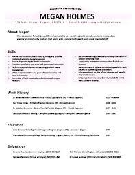 Dental Hygiene Resume Classy Luxury Dental Hygienist Resume Pics Hygiene Examples Objective