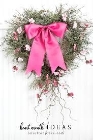 diy heart wreath ideas valentine s day decor on sutton place