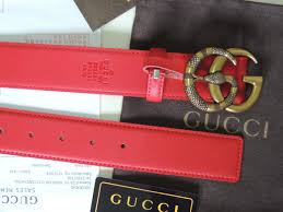 replica gucci leather belt with double g buckle with snake id 34208