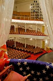 Then Vs Now Exploring The Presidential Box Fords Theatre