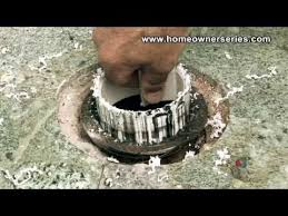 how to fix a toilet cement sub