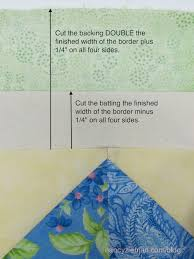 Easy Mitered Corner with No Math Miter Template by Nancy Zieman ... & How to use the No Math Miter Templates to create an easy border on quilts Adamdwight.com