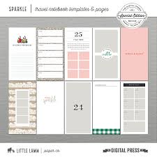 Notebook Templates Sparkle Travel Notebook Templates