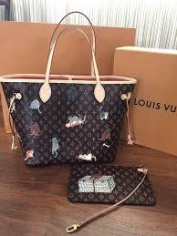 Buy Cheap Designer Bags Louis Vuitton Catagram Neverfull Mm Lv Leather Bags Cheap