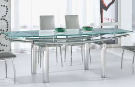 Modern Glass Dining Table Table Wonderful Modern Design Glass Top Dining Tables Ideas