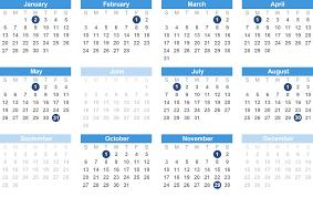 2019 benefit payment schedule