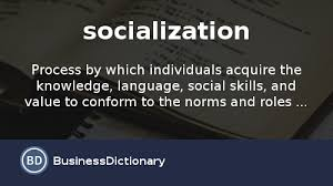 what is socialization definition and meaning com