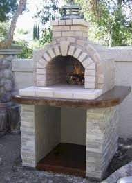 outdoor fireplace with pizza oven plans excellent outdoor pizza oven