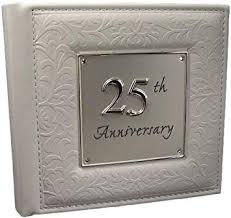 25th silver wedding anniversary gift photo al