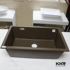 Kitchen Sinks 24 Inch Kitchen Sink Natural Single Basin Acrylic Acrylic Kitchen Sink