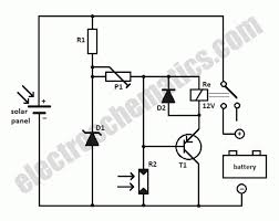 circuit diagram of solar cell the wiring diagram solar panel to battery switch circuit circuit diagram