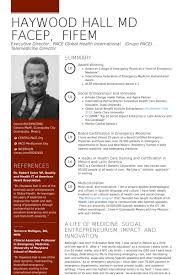 Physician Resume Examples | Krida.info