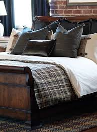 80 best masculine beds images on fine linens linen beautiful comforters for mens bedrooms intended 4