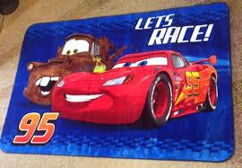 new large disney cars lightning mcqueen non slip area rug carpet boy play mat