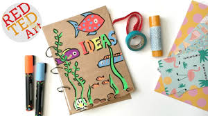 easy smash book diy how to make a journal tutorial sbooking diy art books you