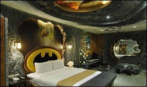 marine corps themed room. batman themed bat cave decorating ideas marine corps room
