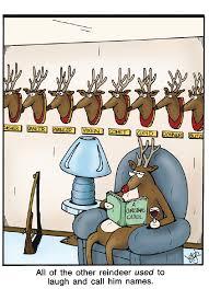 book cartoon funny hahaha lol names reading reindeer