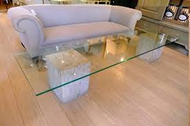 glass top coffee table with black marble base i simply wont ever used and full size