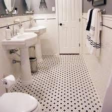 bathroom floor tile hexagon. Elegant Black And White Hexagon Bathroom Floor Tile 20Mosaic 20romm 201