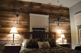 pallet wood accent wall for the home