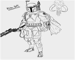 Jango Fett Coloring Pages Lovely Star Wars Coloring Pages Boba Fett