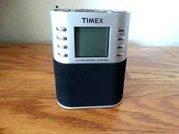 timex alarm clock radio clock radio metal speaker docks