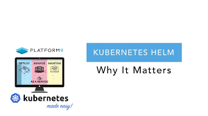 Kubernetes Helm Charts Kubernetes Helm Why It Matters