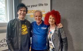 I Just Wanted to be a Rock Star!' David & Rosanna Palmer - Vision Christian  Radio