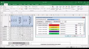 Track Progress In Excel Microsoft Excel How To Track Student Progress Using Grades