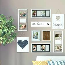 gallery wall picture frames gallery wall frame set 9 piece heart decor picture frame set gallery gallery wall picture frames