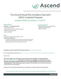 Ascend Sras Certification Training Atlanta Ga Tickets Wed Jan