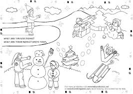 Dltk Bible Coloring Pages Kids Beautiful Snowman Within Wint