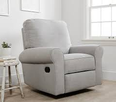 pottery barn recliner.  Pottery Small Comfort Swivel Glider Recliner On Pottery Barn H