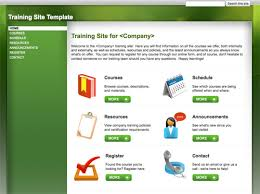 Google Site Templates 10 Handy Web Templates From Google Sites Practical Ecommerce