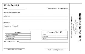Paid Receipt Template Word Receipt Template For Word Bookmylook Co