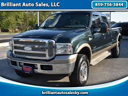 2005 Ford F350 Cab Lights Used 2005 Ford F 350 Sd Lariat Crew Cab 4wd For Sale In