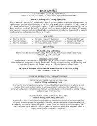Medical Coding Resume Sample Exolgbabogadosco Billing Cover Letter