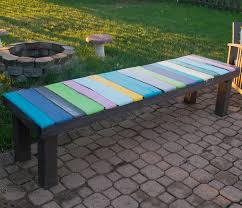 diy wood pallet bench low cost and easy to make