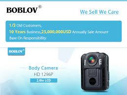 <b>BOBLOV WN9</b> Wearable <b>Body Worn</b> Camera Novatek 96650 HD ...