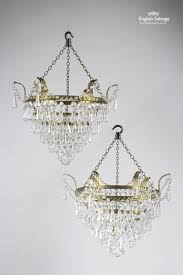 reclaimed brass and crystal drop chandelier 24038 pic1 size1 jpg