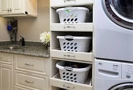 Add Custom Laundry Basket Cabinets