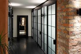 Apartment UV Goes Modern Industrial Using Exposed Metal Brick And - Industrial apartment