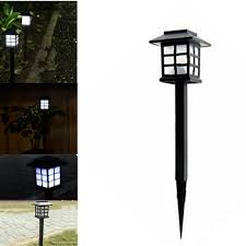 cottage outdoor lighting. 4 Pcs Hot Waterproof Cottage Style LED Solar Garden Light Outdoor Path Road Lawn Post Lighting U