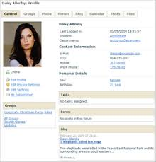 The User Profile Page