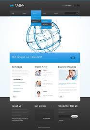 advertising agency website template