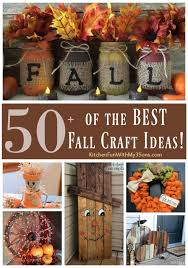 Small Picture Over 50 of the BEST DIY Fall Craft Ideas Craft Fall decor and