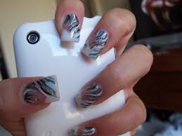 Nail art has become a fad with both the young and fashion ...