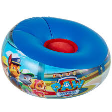 inflatable furniture. PAW PATROL INFLATABLE CHAIR KIDS CHILDRENS BOYS JUNIOR FURNITURE FREE P+P Inflatable Furniture D
