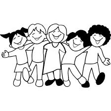 Disegno Di Bambini A Scuola Da Colorare Per Bambini