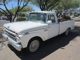 1965 Ford F100 Custom Cab Pick Up Truck VIN F10DD636125, 3 Speed ...